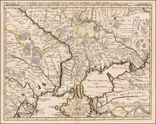 Ukraine Map By Johannes Covens  &  Cornelis Mortier