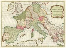 Europe, Europe and Mediterranean Map By John Blair