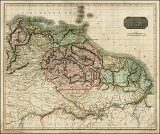 South America Map By John Thomson