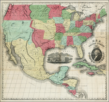 United States and Texas Map By Case, Tiffany & Co.