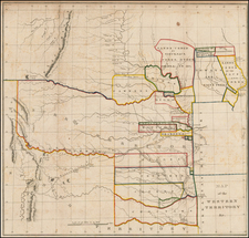 Plains, Kansas, Nebraska and Southwest Map By Washington Hood