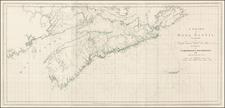 Canada Map By Joseph Frederick Wallet Des Barres
