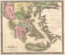 Europe, Balkans, Turkey, Balearic Islands and Greece Map By Jeremiah Greenleaf