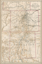 Southwest and Rocky Mountains Map By Anonymous