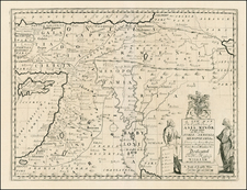 Turkey, Balearic Islands, Middle East, Holy Land and Turkey & Asia Minor Map By Edward Wells