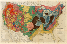 United States Map By United States GPO