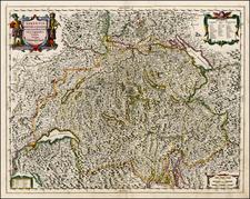 Switzerland Map By Jan Jansson