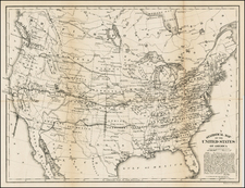 United States Map By Bowen & Co. / United States Treasury Department