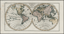 World Map By Noel-Antoine Pluche