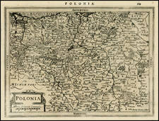 Poland and Baltic Countries Map By Johannes Cloppenburg