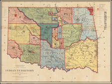 Plains and Southwest Map By U.S. General Land Office