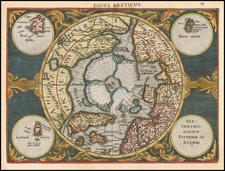 Northern Hemisphere and Polar Maps Map By Johannes Cloppenburg