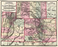 Plains, Southwest and Rocky Mountains Map By Gaylord Watson