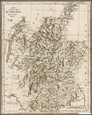 Scotland Map By Anonymous