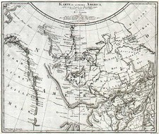 Midwest, Alaska and Canada Map By Daniel Friedrich Sotzmann