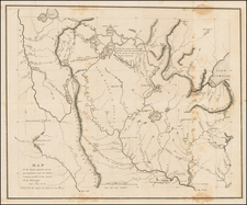 Midwest and Plains Map By Henry Schoolcraft