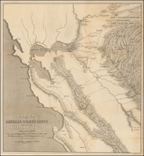 California Map By George Derby  &  J.McH. Hollingsworth