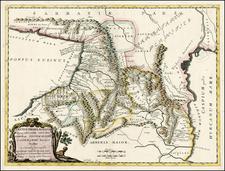 Russia and Russia in Asia Map By Tipografia del Seminario