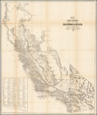 California Map By General Land Office