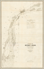 Midwest Map By United States Bureau of Topographical Engineers