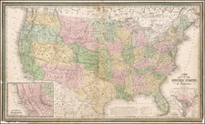 United States Map By Cowperthwait, Desilver & Butler