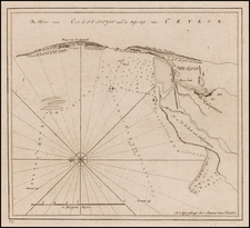 India and Other Islands Map By Johannes II Van Keulen