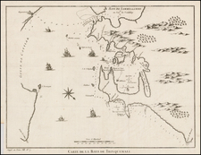 India, Other Islands and Sri Lanka Map By Jacques Nicolas Bellin