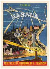 Cuba Map By Instituto Cubano Del Turismo