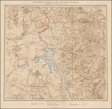 Map By Julius Bien / United States Bureau of Topographical Engineers
