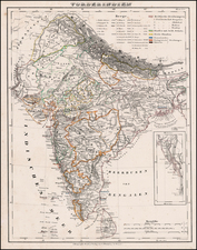 India Map By Carl Flemming