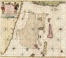 Southeast and Caribbean Map By Johannes Van Keulen