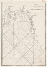 India & Sri Lanka Map By Jean-Baptiste-Nicolas-Denis d'Après de Mannevillette