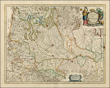 Italy and Northern Italy Map By Johannes Blaeu