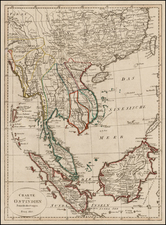 China and Southeast Asia Map By Franz Pluth