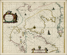 Polar Maps and Canada Map By Pieter Goos
