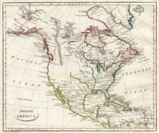 North America Map By John Russell