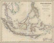 Southeast Asia and Philippines Map By Archibald Fullarton & Co.