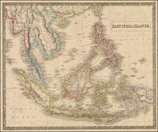 China, Southeast Asia and Philippines Map By George Philip  &  Son
