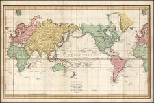 World and World Map By Jean Francois Galaup de La Perouse