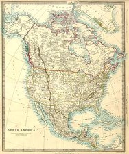 North America Map By SDUK