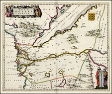 Egypt Map By Johannes Blaeu