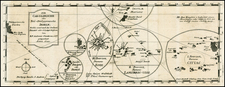 Australia & Oceania, Oceania and Other Pacific Islands Map By Antonio Cantova
