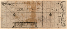 Southern Hemisphere, South America, Pacific, Australia and Oceania Map By Theodor De Bry