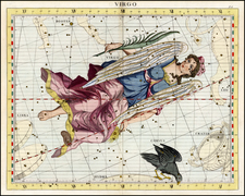 Curiosities and Celestial Maps Map By John Flamsteed