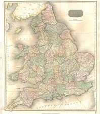 Europe and British Isles Map By John Thomson