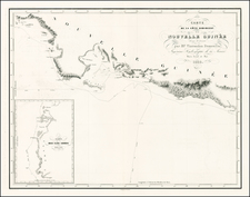 Southeast Asia and Other Pacific Islands Map By Clement Adrien Vincendon Dumoulin