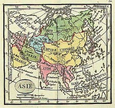 Asia and Asia Map By Anonymous
