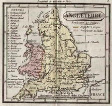 Europe and British Isles Map By Anonymous