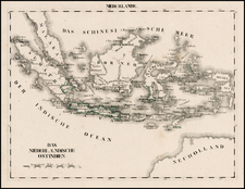 Southeast Asia Map By Schleiben