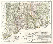 New England Map By Daniel Friedrich Sotzmann